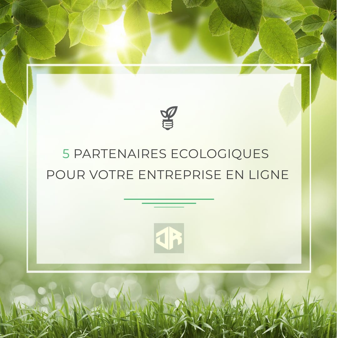 5 partenaires écologiques